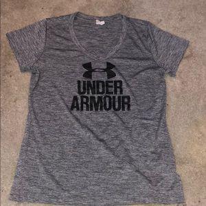 Women's under armour workout t shirt